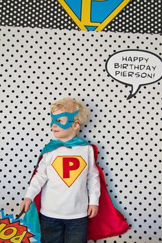 Super Hero Photo Booth Signs Birthday  by arpartyprintables, $24.00