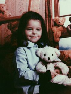 "Mel as a bb<<<omg this pic was the inspiration for her song ""Teddy Bear"" omg omg"