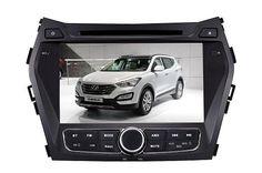 2013 Hyundai Santa Fe/IX45 gps dvd player autoradio from Somicar: http://www.cheapcardvds.com
