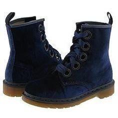 Blue Velvet Doc Martens (I own these)