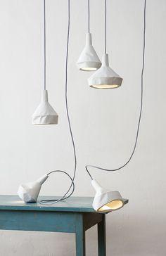 Like Paper by DUA #lamp #concrete #paper #design