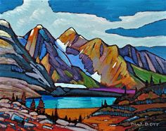 Nicholas Bott   OIL                     Glacial Lake