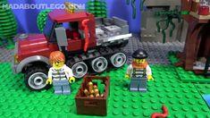 LEGO City Swamp Police Hovercraft Arrest 60071. Lego Police, Lego City, Legos, Lego, Logos