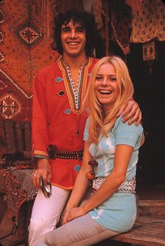 France Gall and Julien C.