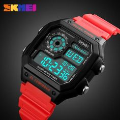 9127e71247c Sports Watch Men LED Digital Watches