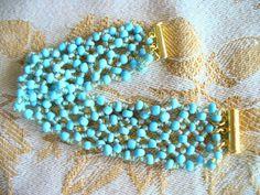 Turquoise Bracelet   by Wonderbarrel