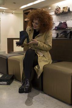 Artist Sofia Kourtidou can't decide which shoes to wear during her stage appearences! Enter sagiakos.gr to shop all our New Arrivals! | Η Σοφία Κουρτίδου επιλέγει παπούτσια από τις Νέες Αφίξεις μας για τις εμφανίσεις της στο Βοτανικό Plus! Μπες στο sagiakos.gr για να δεις περισσότερα! Celebs, Celebrities, Celebrity, Famous People