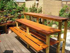 Simple DIY Bench Seat Plans | Free do it yourself bench seat plans and projects Folding bench seat ...