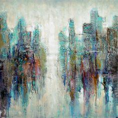 <li>Title: The Opening </li> <li>Product type: Canvas art </li> <li>Style: Acrylic painting</li>