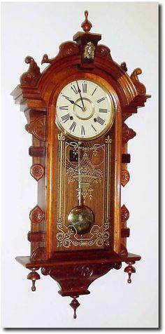 Antique Gustav Becker Pendulum Wall Clock approx1900 antique