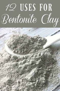 Natural Beauty Remedies Bentonite Clay is one of the most popular clays out there and for good reason! It can do a lot! It's known as a healing clay and it can be used for much more than just a nice face mask. Here are 12 uses for bentonite clay! Be Natural, Natural Beauty Tips, Natural Skin Care, Organic Beauty, Natural Healing, Organic Makeup, Natural Living, Indian Healing Clay, Natural Detox