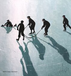 Dima Dmitriev, Ice Shadows