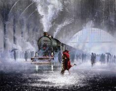 Jeff Rowland, British painter, Tutt Art