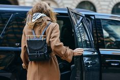 That bag tho. Tommy Ton Shoots the Best Street Style at the Fall '15 Shows