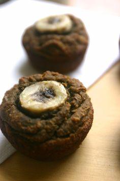 paleo chai spiced banana bread muffins