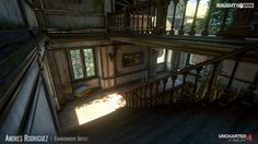 ArtStation - Uncharted 4 - Tower, Andres Rodriguez