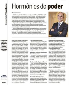 Título: Hormônios do poder. Veículo: Correio Braziliense. Data: 23/11/2014. Cliente: Editora Alaúde.