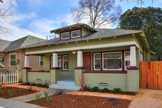 Craftsman Bungalow for sale in Oak Park, Sacramento. Bungalow Homes, Bungalows For Sale, Thing 1, Oak Park, Craftsman Bungalows, First Home, Sacramento, Home And Family, Shed