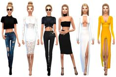 KENDALL JENNER AND GIGI HADID at TS4 Celebrities Corner • Sims 4 Updates