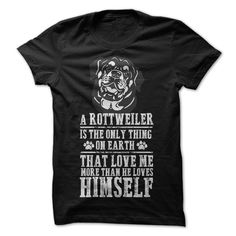 Rottweiler Love You T-Shirts, Hoodies. GET IT ==► https://www.sunfrog.com/States/Rottweiler-Love-You.html?id=41382