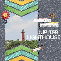 Jupiter Lighthouse by Brenda Hollingsworth (Made with the Work Day collab from PixelScrapper.com)