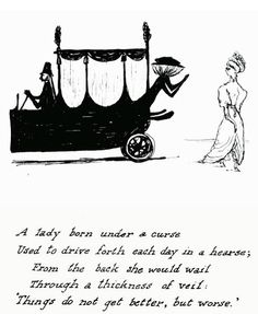 from The Listing Attic by Edward Gorey Edward Gorey, Creepy Poems, Charles Addams, Up Book, Light Art, Macabre, American Artists, Dark Art, Illustrators