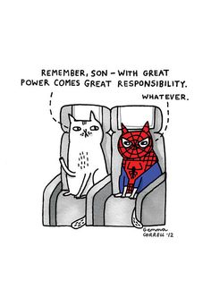Sky Cats - Power (2) by gemma correll, via Flickr