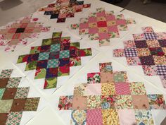 Scrap Great Granny Square Block Tutorial Enchanting, endearing and enduring is how I feel about this old fashioned block. Like so many things, everything old is new again. The look of these blocks emulates the look of crocheted Granny squares, but much larger of course. This block will be delightful in whatever fabrics are used, … Continue reading Scrap Great Granny Square Block Tutorial →
