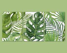 tropical home decor Leaf Wall Art, Leaf Art, Wall Art Decor, Tropical Bedrooms, Tropical Home Decor, Tropical Interior, Tropical Furniture, Tropical Colors, Modern Tropical