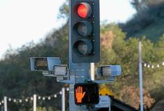 Cerritos will discuss Thursday whether to continue its contract for red-light cameras. (File photo.)