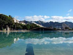 De qué color es #Tenerife? Puede ser azul como el mar que encuentras en cada rincón o vista? Puede ser verde como la laurisilva de sus bosques o de múltiples colores como las casas de la isla... #tbmtenerife gracias por reencontrarme con este #paraíso