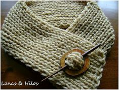 Pattern (in English): Simple Knit Cowl