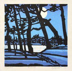 Moon by Karhu, Clifton (1927-2007)
