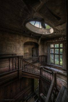 Potters Manor House ~ by Roman Solowiej on Flickr #photography #HDR #urban_decay