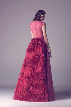 Impresionante Colección de Vestidos por Fadwa Balbaki - Primavera Verano 2015 - Vestidos Mania