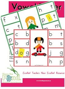 A printable card game ideally for a small group of players or can be adapted for an individual student. Students help the drivers on their game boa. Reading Centers, Literacy Centers, School Items, School Stuff, Speech And Language, Language Arts, Spelling Word Games, Teacher Humor, Teacher Stuff