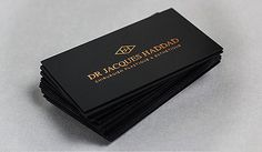 Dr. Haddad Business Cards | Business Cards | The Design Inspiration