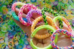 Loom bands creator's new invention - a finger loom
