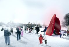 """Hope you had a great Valentine's Day. You can still """"Warm your Heart"""" with Kilometrezero on Archdaily ♥"""