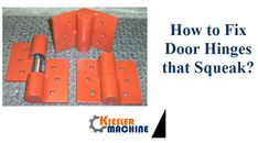 Squeaking door hinges are the first signs of hinge failure and needs inspected by a qualified door company for recommendations on resolving the problem.