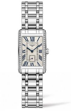 Longines DolceVita Diamond Bracelet Watch, 20.5mm x 32mm