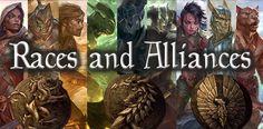Racial Origin Story Concept — Elder Scrolls Online