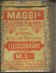 Maggi, Canning, Hannover, Home Canning, Conservation