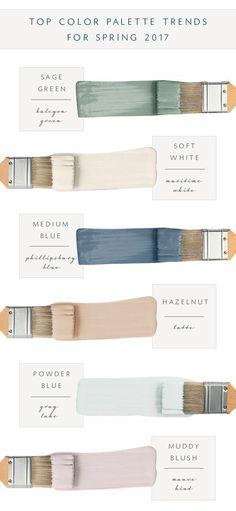 Top Color Palette Trends Spring 2017 - Coco Kelley