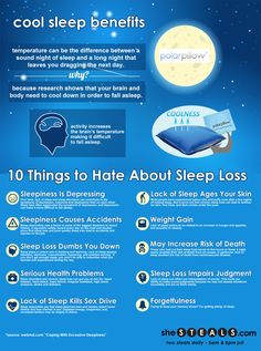 Can't sleep? You may be too hot. Polar Pillow can help.  This is AWESOME!  I need one since I'm such a hot sleeper.