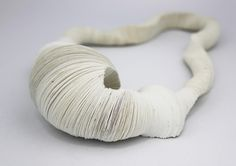 Lisa Catterson, United Kingdom, Necklace, Handmade paper