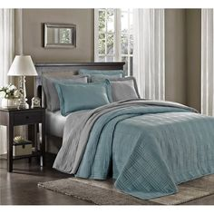 3pcs Kingston Oversized Quilted Bedspread Set | Overstock.com Shopping - The Best Deals on Bedspreads