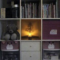 Candle Decor Lamp Creative LED Shadow Projection