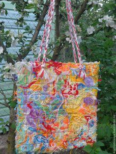 """Купить Сумочка женская """"Фантазия"""" - рисунок, комбинированный, сумка женская, стиль бохо"""