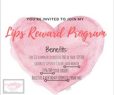 Lipsense rewards